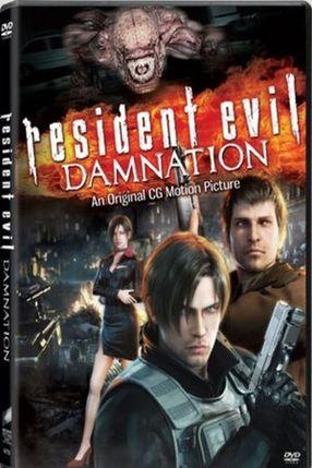 Poster: Resident Evil - Damnation