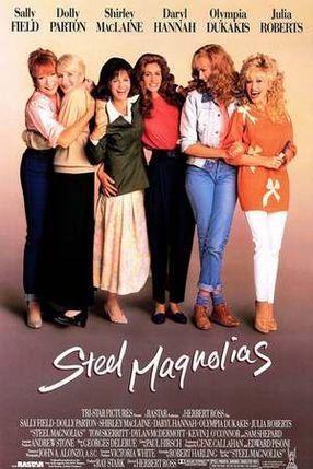 Poster: Magnolien aus Stahl