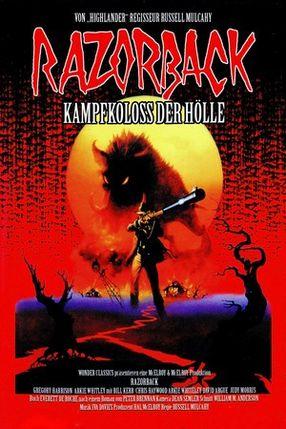 Poster: Razorback - Kampfkoloß der Hölle