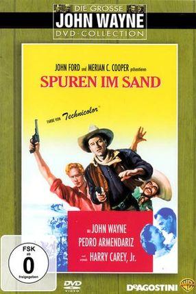 Poster: Spuren im Sand