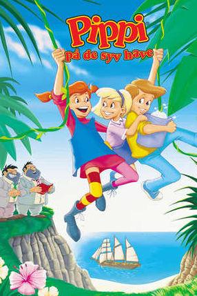 Poster: Pippi Langstrumpf in der Südsee
