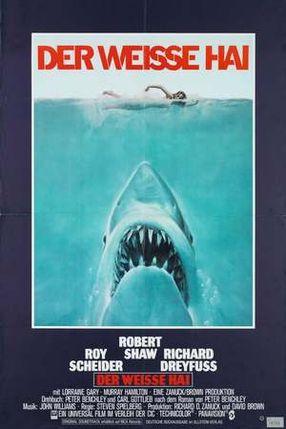 Poster: Der weiße Hai