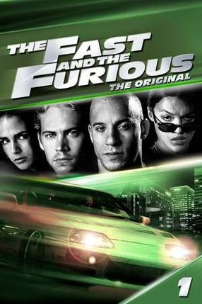 Poster: The Fast and the Furious