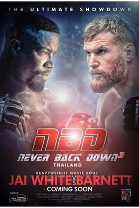 Poster: Never Back Down: No Surrender