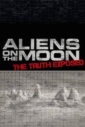 Poster: Aliens auf dem Mond