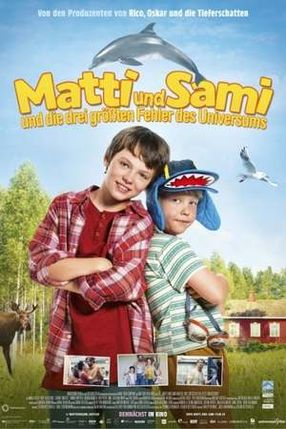 Poster: Matti & Sami und die drei grössten Fehler des Universums