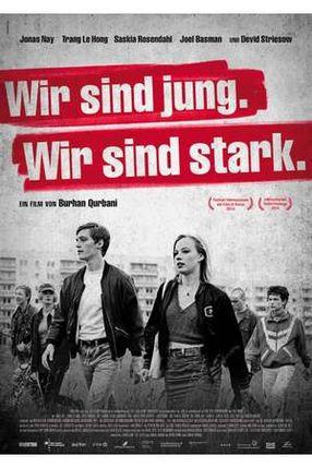 Poster: Wir sind jung. Wir sind stark.