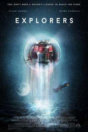 Poster: Explorers – Ein phantastisches Abenteuer