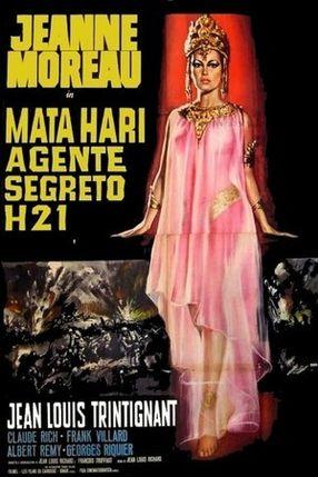 Poster: Mata Hari - Agent H. 21