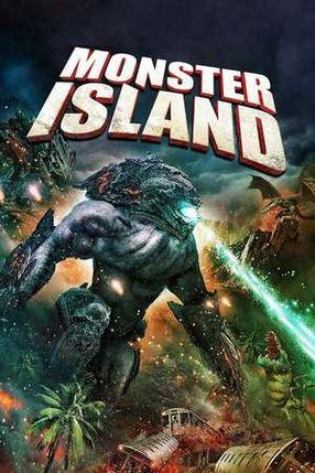 Poster: Monster Island - Kampf der Giganten