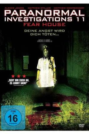 Poster: Paranormal Investigations 11 - Fear House