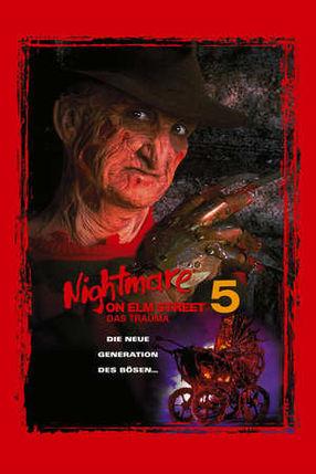 Poster: Nightmare on Elm Street 5 - Das Trauma