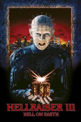 Poster: Hellraiser III: Hell on Earth