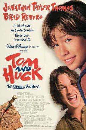 Poster: Tom und Huck