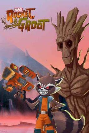 Poster: Marvel's Rocket & Groot