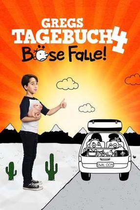Poster: Gregs Tagebuch – Böse Falle!