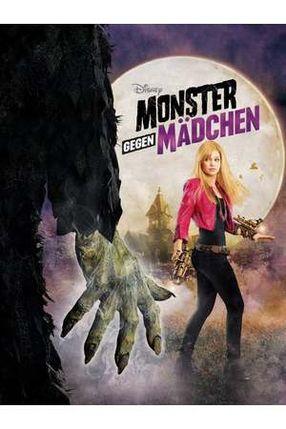 Poster: Monster gegen Mädchen
