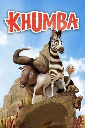 Poster: Khumba - Das Zebra ohne Streifen am Popo