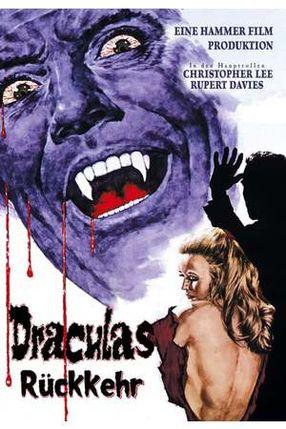 Poster: Draculas Rückkehr