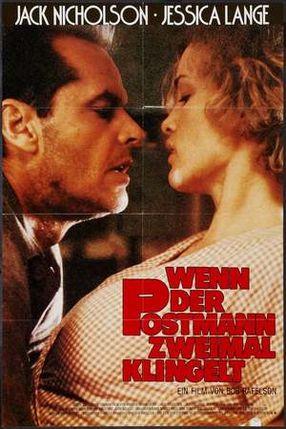 Poster: Wenn der Postmann zweimal klingelt