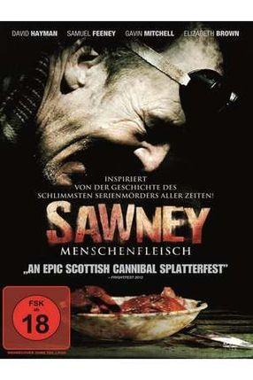 Poster: Sawney - Menschenfleisch