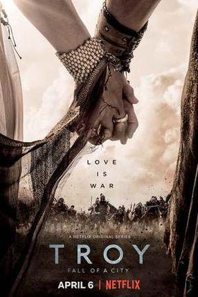 Poster: Troja - Untergang einer Stadt