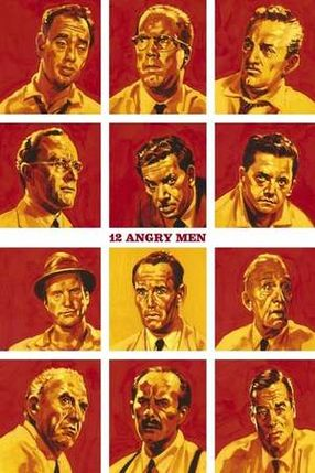 Poster: Die zwölf Geschworenen