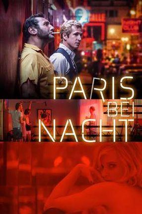 Poster: Paris bei Nacht