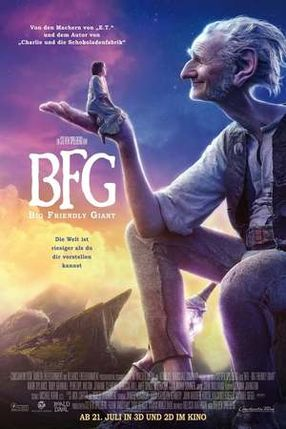 Poster: BFG - Big Friendly Giant