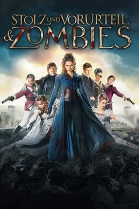 Poster: Stolz und Vorurteil & Zombies