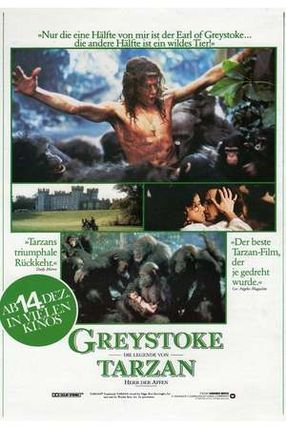 Poster: Greystoke – Die Legende von Tarzan, Herr der Affen