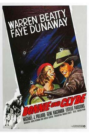 Poster: Bonnie und Clyde