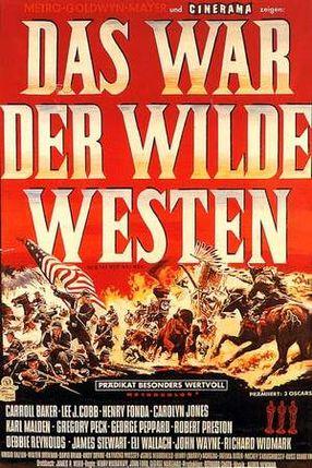Poster: Das war der Wilde Westen