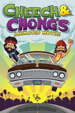 Poster: Cheech & Chong's Animated Movie