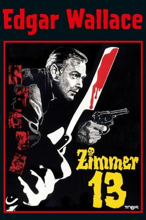 Poster: Edgar Wallace: Zimmer 13