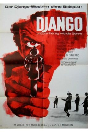 Poster: Django – Unbarmherzig wie die Sonne
