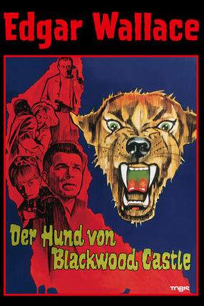 Poster: Edgar Wallace - Der Hund von Blackwood Castle