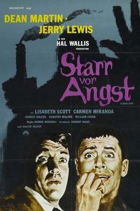 Poster: Starr vor Angst
