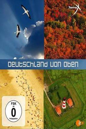 Poster: Deutschland von oben