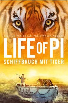 Poster: Life of Pi - Schiffbruch mit Tiger