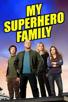 Poster: My Superhero Family
