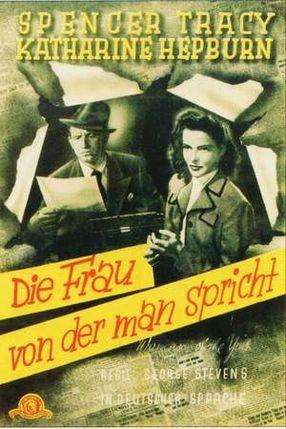 Poster: Die Frau von der man spricht
