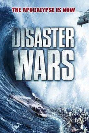Poster: Disaster Wars: Earthquake vs. Tsunami