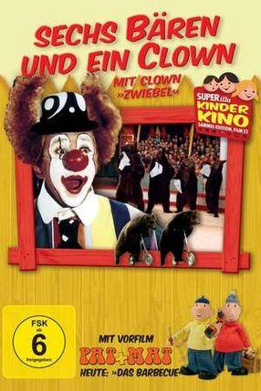 Poster: Sechs Bären und ein Clown