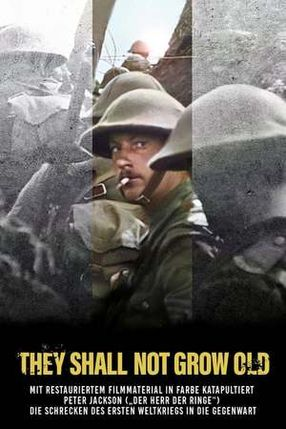 Poster: They Shall Not Grow Old