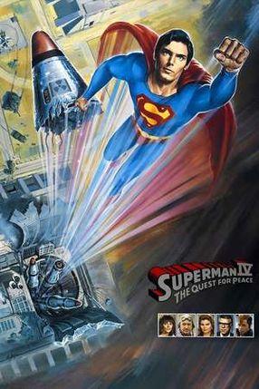 Poster: Superman IV - Die Welt am Abgrund