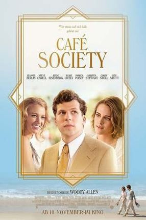 Poster: Café Society