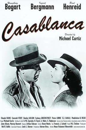 Poster: Casablanca
