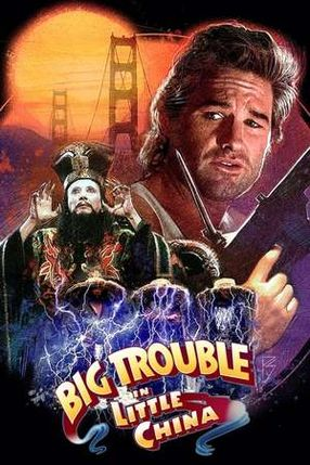 Poster: Big Trouble in Little China