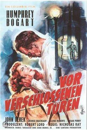 Poster: Vor verschlossenen Türen